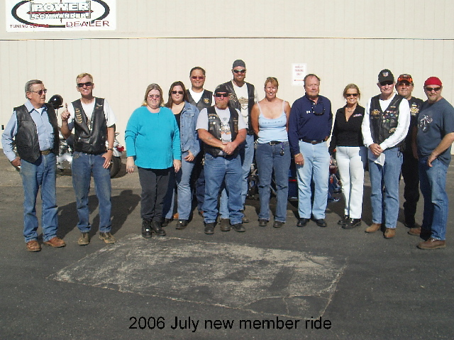 2006 July new member ride m